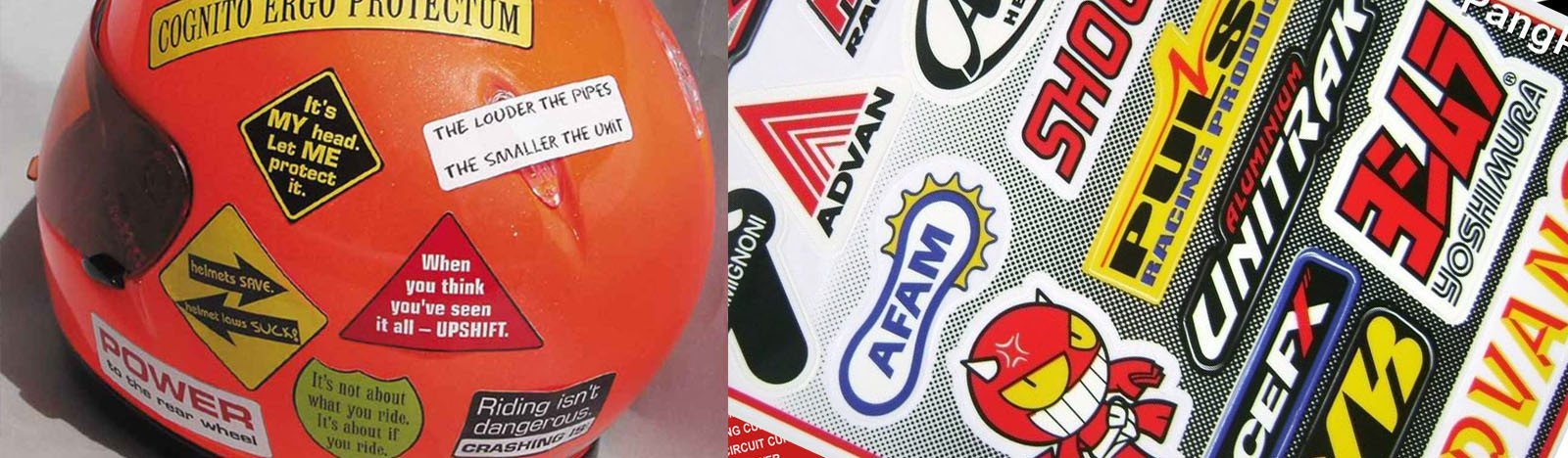 High Visibility Reflective Vinyl Stickers